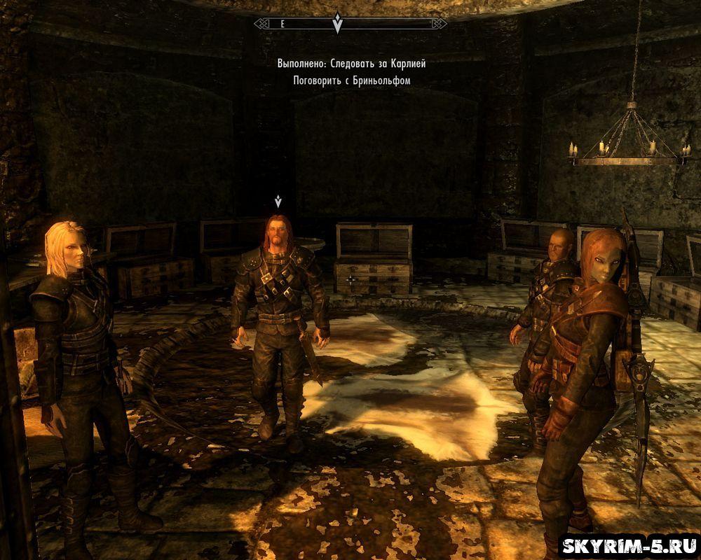 Гильдия воров прохождение Скайрим -