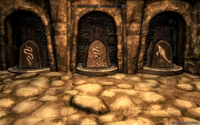 Прохождение задания с золотым когтем в Скайрим Skyrim -
