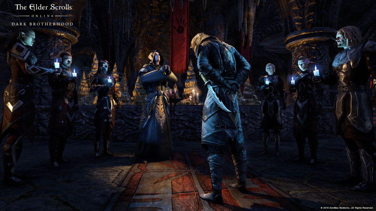 The Elder Scrolls V: Skyrim ( Скайрим ) - Вступления в гильдии, братства