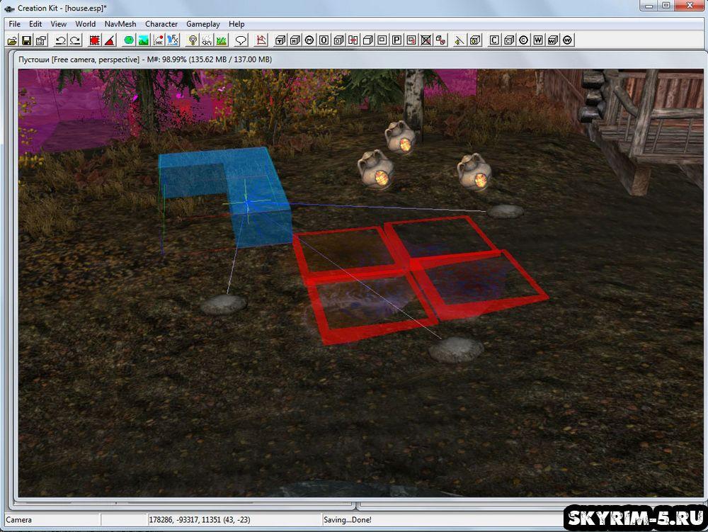 Скайрим — Creation Kit: Создание ловушки -