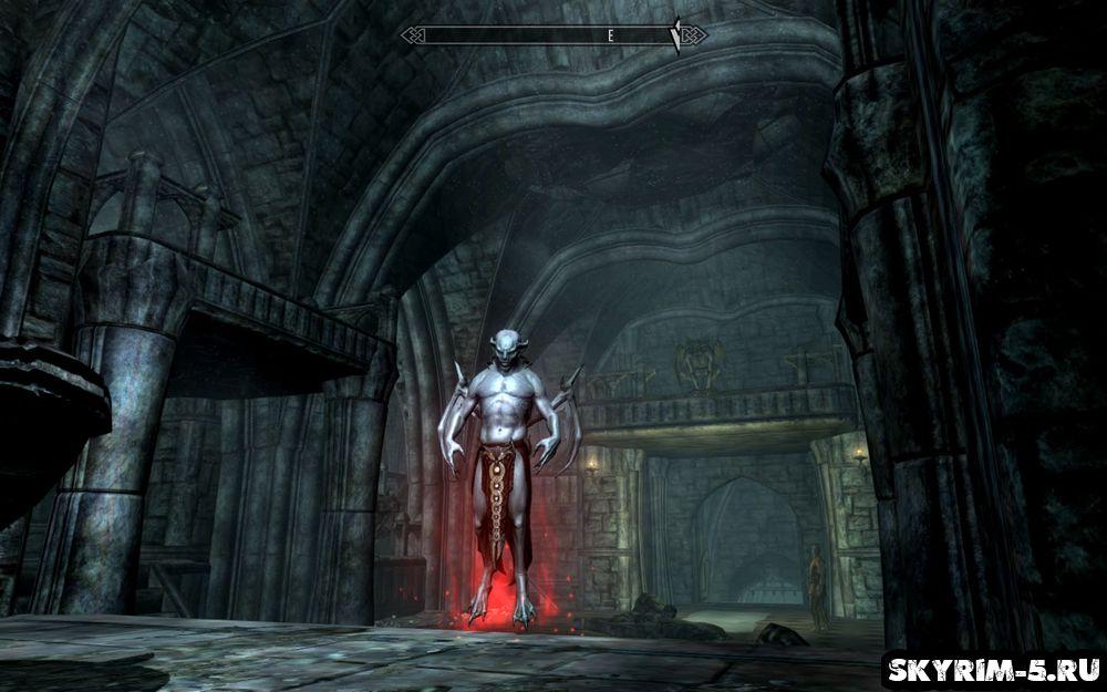 Dawnguard — форма Вампира-Лорда (Vampire Lord)- Скайрим основы -