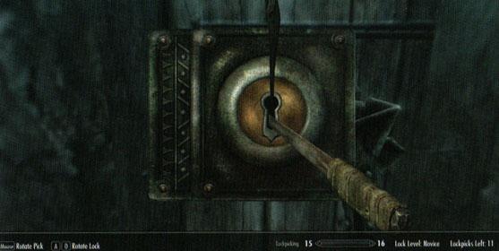 Скрытность, воровство и взлом замков- Скайрим основы -